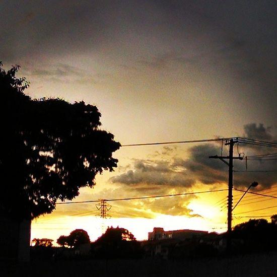 Choveu Amanheceu Refresco Molhou Abençoou Bom Dia Aplausos para o SOL que a todos Brilham