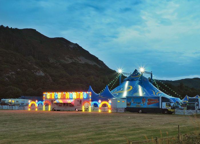 Circus Mondao at Dwygyfylchi, Nightime! OlympusPEN Circus Nightphotography Dwygyfylchi Taking Photos Landscape