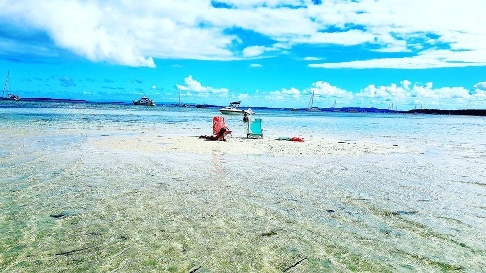 Island life Water Sea Beach Full Length Sand Summer Sky Horizon Over Water Cloud - Sky