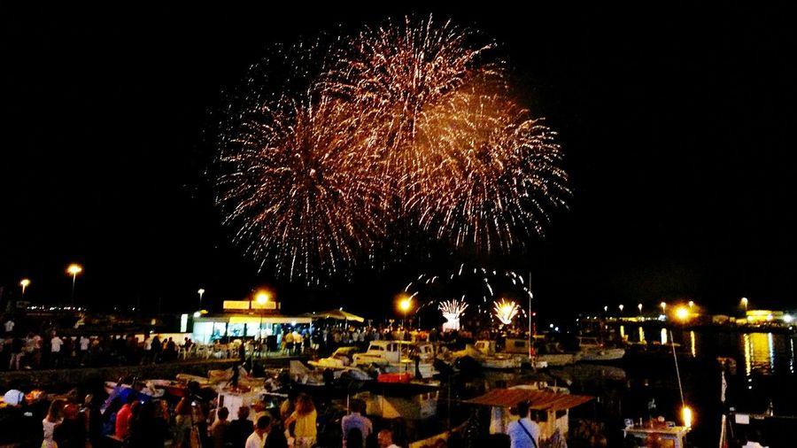 Sea Fireworks