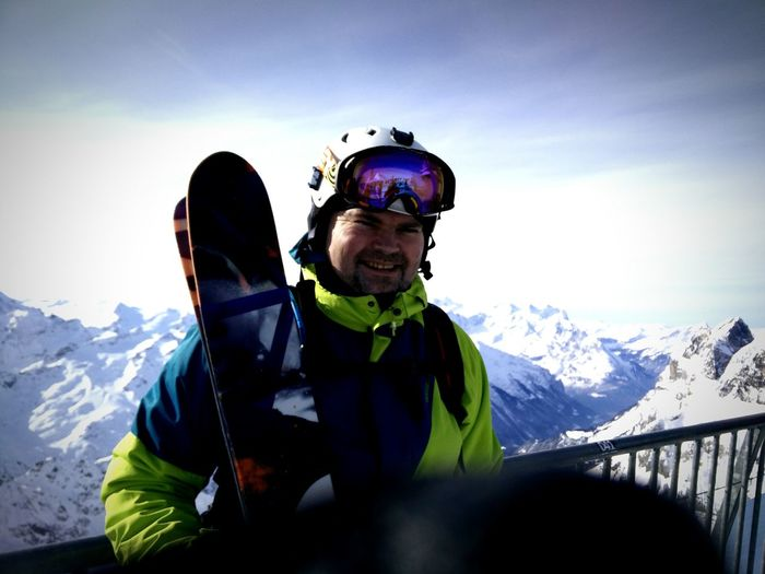 -Me at top of Mt.Titlis (3090mh)- Showcase: February Switzerland Engelberg Freeskiing Skiing Capture The Moment The Tourist Salomon