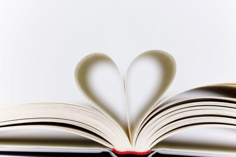 Book Page Education Love Paper Read Lesen Seiten Buch Love Books White Herz Heart Liebe
