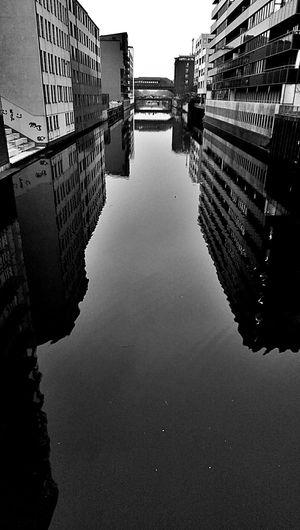 Water Reflections Blackandwhite Architecture
