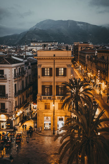 Memories HUAWEI Photo Award: After Dark Light Palermo Amazing Architecture Building Building Exterior Built Structure City High Angle View Illuminated Italy Mountain Night Outdoors Photography Sky Street Travel Destinations Urban Skyline #urbanana: The Urban Playground