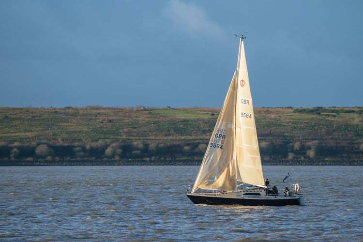 Day Nature Nautical Vessel No People Outdoors Sailboat Sailing Sea Sky Transportation Water Waterfront