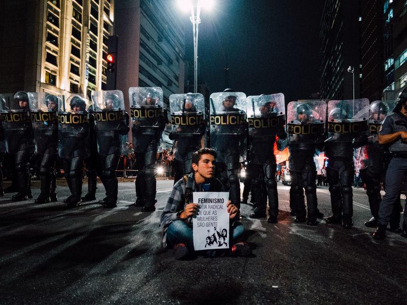 Por TODAS ELAS - 01/06/2016 The Photojournalist - 2016 EyeEm Awards Documentary Photography Fotojornalismo Fotografia De Rua Manifestation São Paulo Brazil