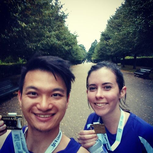 5k complete! Well done @emmajedrejak @fridamaria @emilytearle LGN Advertising London Running Doarunner