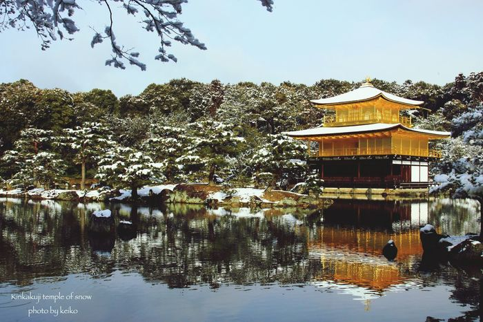 京都 Kyoto 銀閣寺 WhiteCollection 雪景色 雪化粧 Japan Temple Japanese Temple Other_kei