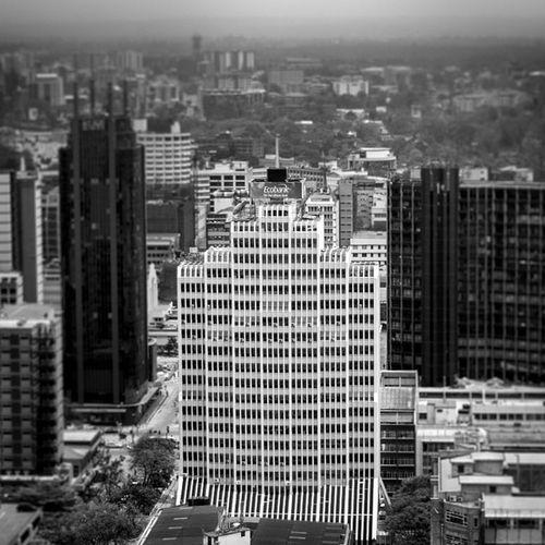Ecobank Building Nairobi Architecture Ecobank Buildings City Skyscrapers BnW StreetsOfNairobi Cityscape Skyline IGERSNairobi IGNairobi IGKenya CityOfNairobi