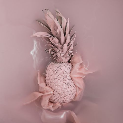 Let it Pink Underwater Water Pineapple Pink StillLifePhotography Indoors  Close-up Studio Shot Plant No People Wall - Building Feature Nature Still Life Freshness Pink Color Creativity The Foodie - 2019 EyeEm Awards