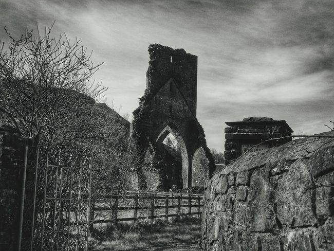 Wales Walking Around Escaping Relaxing Textures And Surfaces Patterns & Textures Country Life Country Countrylife Abbey Tower Historic History Historical Monuments Historical Building Landmark Photography Taking Photos Check This Out Black And White Photography Black And White Dramatic Atmospheric Mood Atmosphere Atmospheric