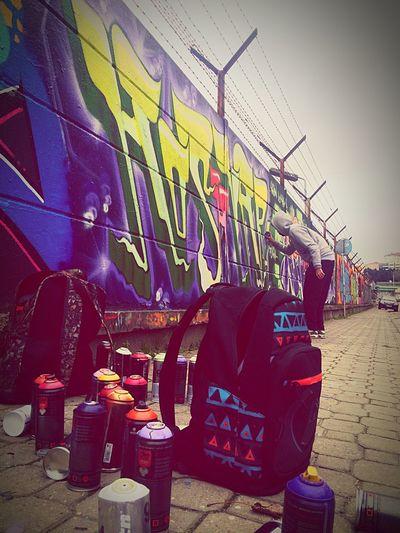 Street Art Writing On The Walls Street Art/Graffiti Grafitti Writing On The Wall Art
