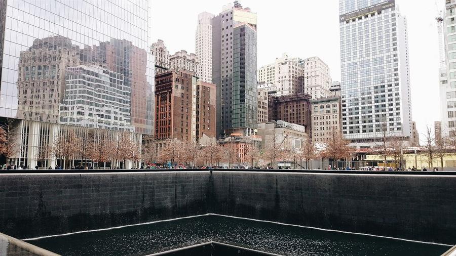 New York memorial Architecture City Cityscape New York City New York 9/11 Memorial