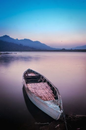 a litle boat #photography #Nature  #landscape #nature #photography #travel #longexposure #indonesia_photography #wonderfulindonesia #architecture #explore #world #earth #Sunrise First Eyeem Photo