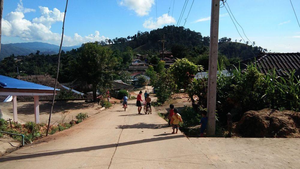 Child Mountain Day Thailand🇹🇭 Mae Salong Chiang Rai, Thailand Outdoors Trail Running MST2017