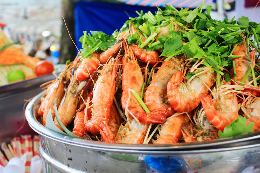 Cary Shrimp Choice Close-up Day Food Food And Drink For Sale Freshness Healthy Eating Large Group Of Objects Market Market Stall No People Outdoors Ready-to-eat Retail  Shrimp Tom Vietnamese Food Vietnamfoodstreet