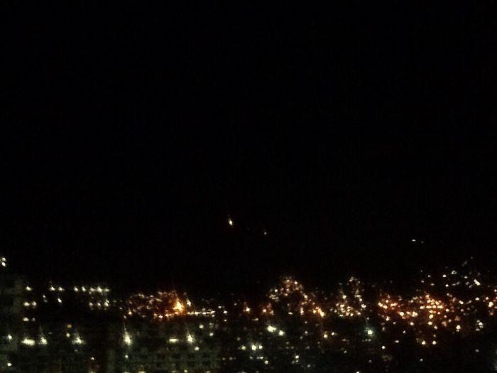 Night Caracas Illuminated Sky Blacksky Sunday