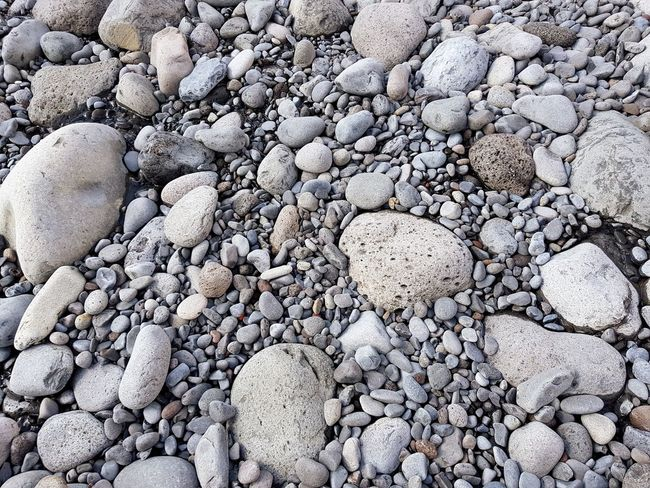 Bildfolge Photography Landscape_Collection Landscape_photography Madeira Island Vacation Time Tranquility Scene Beach Pebble Stone - Object Backgrounds Pebble Beach Nature Outdoors Day Textured  No People Large Group Of Objects Close-up Beauty In Nature Directly Above Textured  Shore