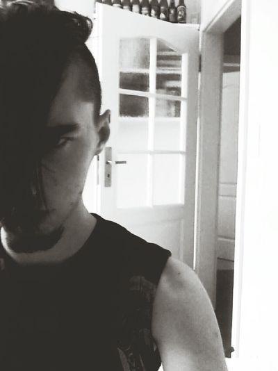 That's Me Metalhead Misfits Punk Undercut Shortbeard