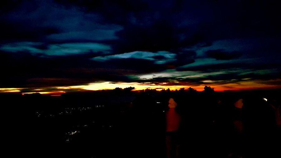 Sunrise at Mt Bromo Beautiful Sunrise At Mt Bromo Active Volcano Multi Colored Dramatic Sky Silhouette Sky