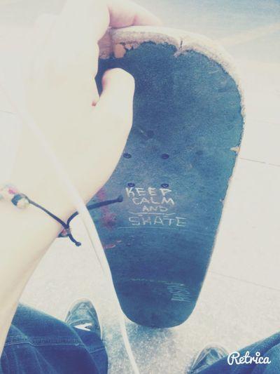 Keep calm and skate! Skateforlife Swag Hello World Love