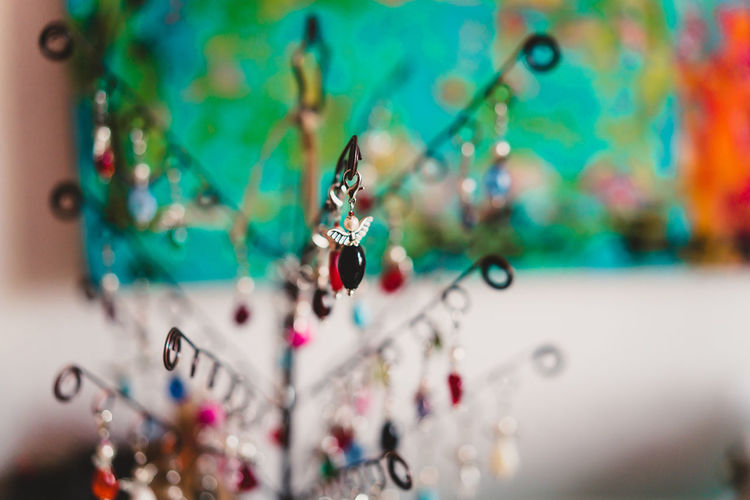 Craft Items Craftsmanship  Vintage Craft Arts And Crafts Selective Focus Decoration Close-up Indoors  Hanging No People Multi Colored Jewelry Choice Focus On Foreground Day Holiday Art And Craft Creativity Celebration Variation Collection Still Life Personal Accessory