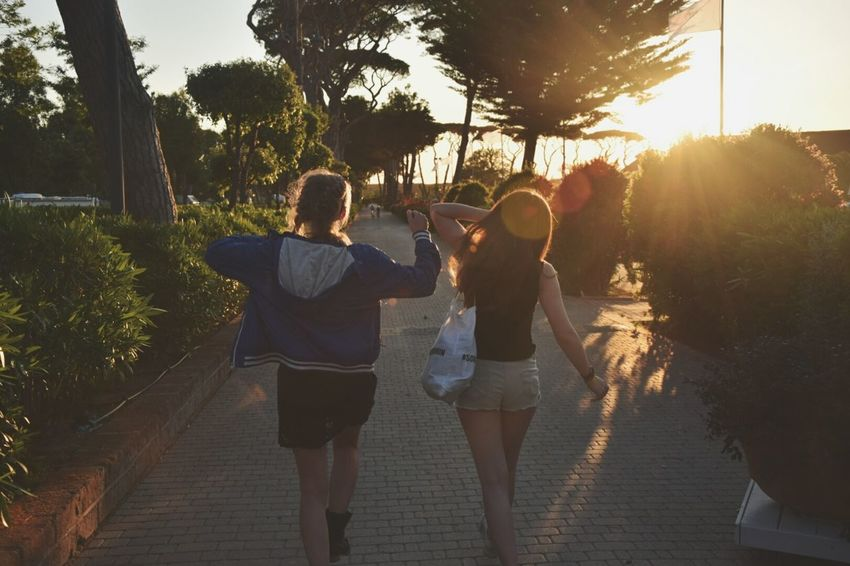 Enjoy The New Normal Friendship Togetherness Sunlight Summer Happiness Day Sun Mezzomix