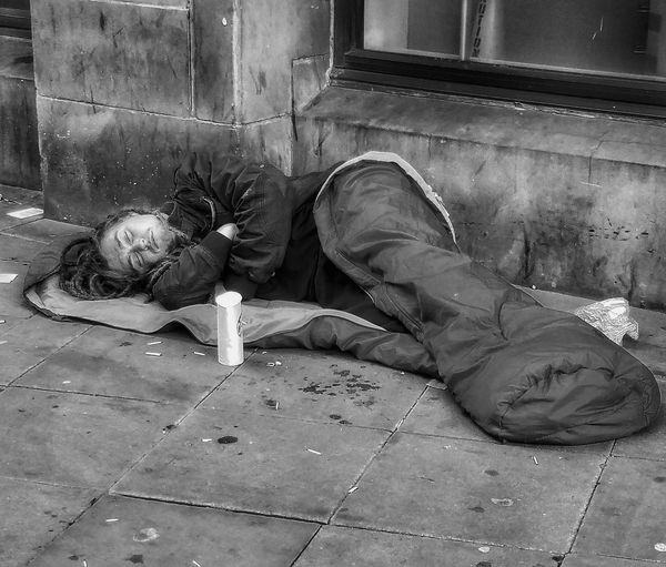 Part of my series homeless of Manchester Homeless People Homeless Of Manchester Uk Homeless Awareness People Of Manchester Monochrome Photograpy Monochrome Photography Blackandwhite Photography Black And White Photography Black And White Collection  Black & White Photography Malephotographerofthemonth Person History The Human Condition. Adapted To The City The Street Photographer - 2017 EyeEm Awards