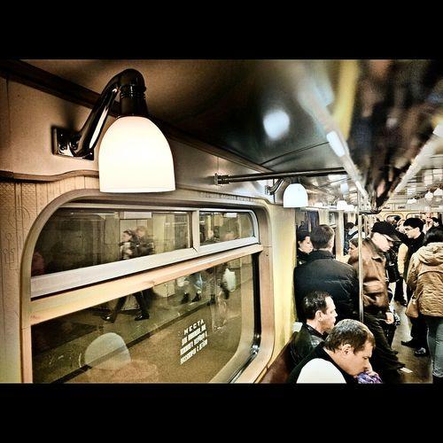 Moscow Underground старый вагон метро метро