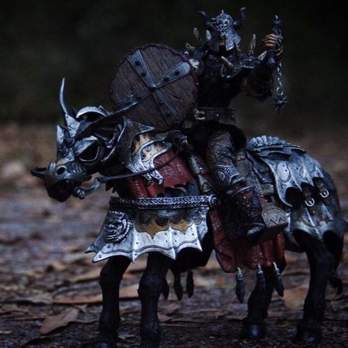 Spawn the Bloodaxe and Thunderhoof. Ata_dreadnoughts Actionfigure Toy Photography Vikingspawn Spawn