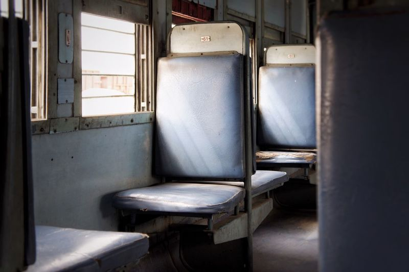Seats in train