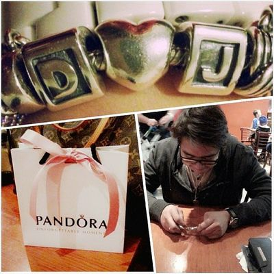 Thanks for my Pandoracharms and Dinner my love! :)♥ Darylcruz