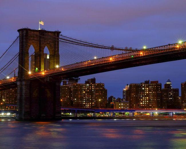 Architecture Built Structure Bridge Bridge - Man Made Structure Illuminated City Capture Tomorrow
