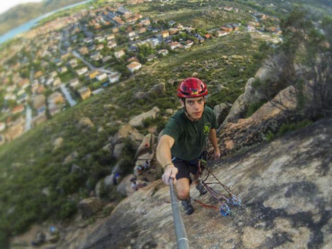 Climbing Mountain Gopro Shots