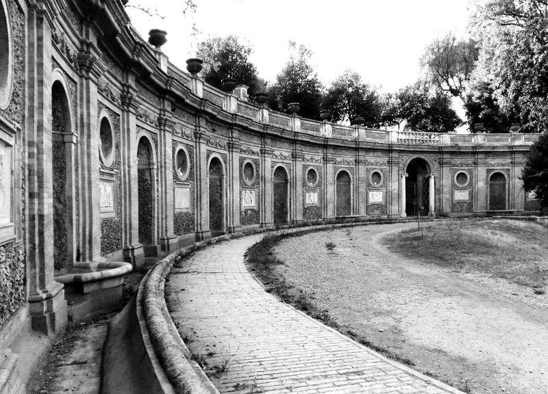 Architecture Blacckandwhite Garden Italy Roma Villa Pamphilj