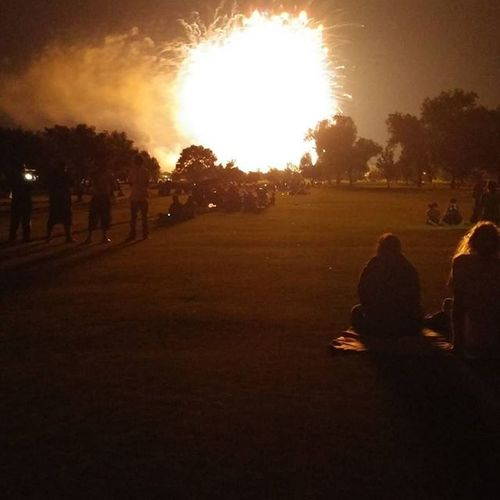 Fireworks Finale Auroracolorado