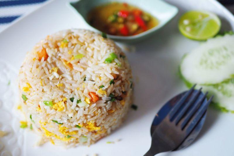 Rice seafood