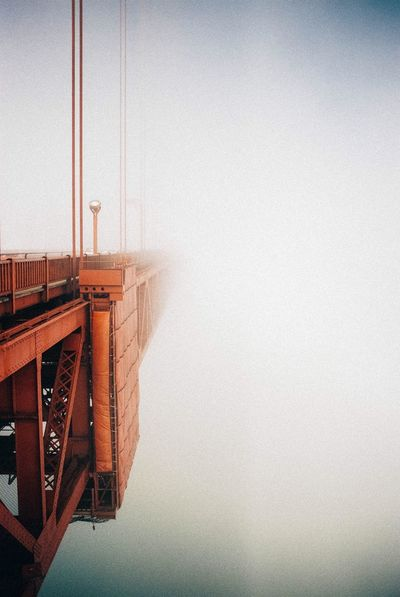 I am posting a lot on Instagram these days @canelarodal GoldenGateBridge Fog Lost Sky California Analogue Photography 35mm Film
