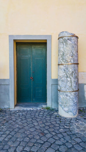 Ancient alley in Pozzuoli, Bay of Naples, Italy Architecture Built Structure Column Day Door Doors Naples Naples, Italy Napoli No People Outdoors Pozzuoli Rione Terra