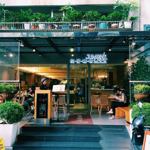 Nice Blunch Cafe near Zhongshan station in Taipei