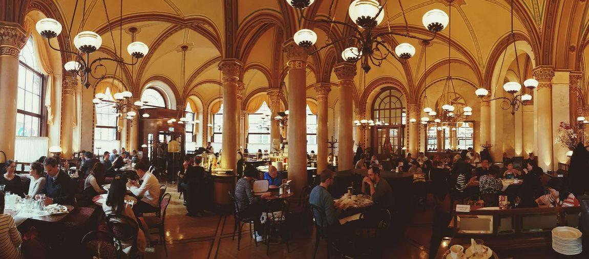 Cafe Central Vienna Wien Kaffeehaus Columns Architecture EyeEmNewHere
