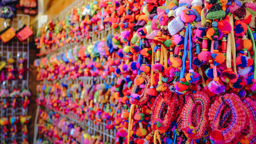 Close-up For Sale Full Frame Hanging Jewelry Large Group Of Objects Market Multi Colored No People Street Market