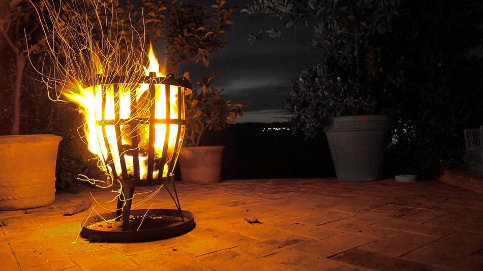 Herbststimmung Herbst Lightpainting Umbria Nature Outdoor Italia Feuer Close-up Heat - Temperature Night Flame Burning Makro Detail Fotografie Romantic Photo Love Photography Photooftheday Photographer