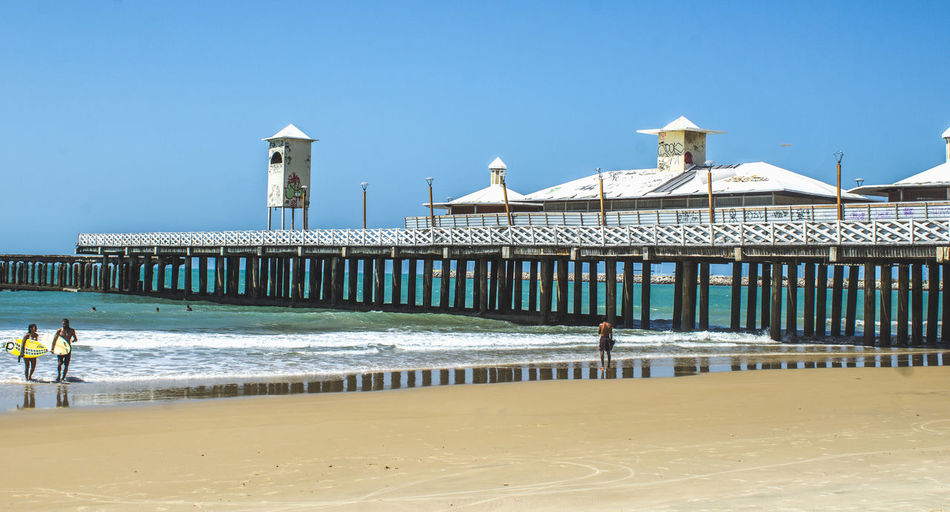<3 Fortaleza - Ce Ponte Metalica Praia Praia De Iracema Art And Culture Arte Beach Cartaopostal Cultura Cultures Mar Paisagem Ponte Reliquia