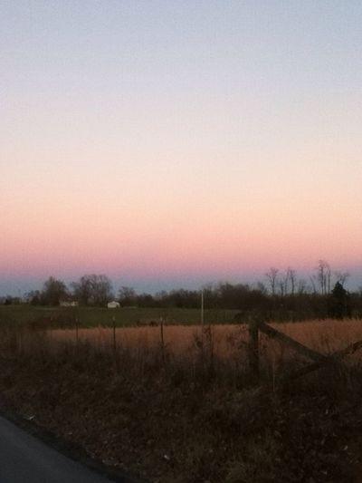 I love the Kentucky sky!