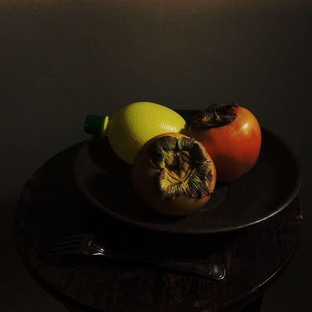 Fresh fruit Fruit Food And Drink Still Life Lemon Sharon Fruit Persimmon