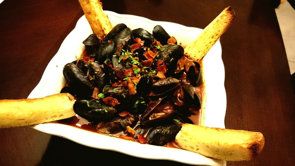 Ericcooks Homemade Mussels in Redwine Tomatosauce What's For Dinner? Food Porn Food Porn Awards