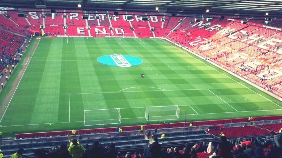 Football Old Trafford Man  United