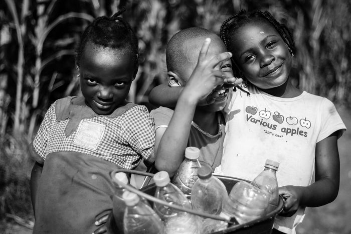 Childhood fun Outdoors Happiness Togetherness Friendship People Childhood Cheerful Snapshots Of Life Street Photography Portraits Discover Africa African Beauty Discover The World Africa Love