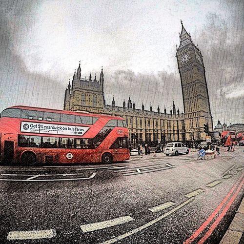 London Europe Big Ben Buss